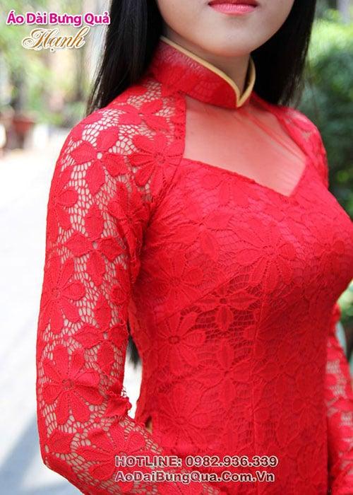 Áo dài cưới dành cho cô dâu mẫu số 2