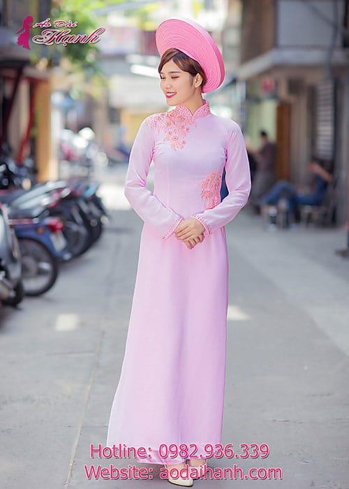 Áo dài cưới dành cho cô dâu mẫu số 59