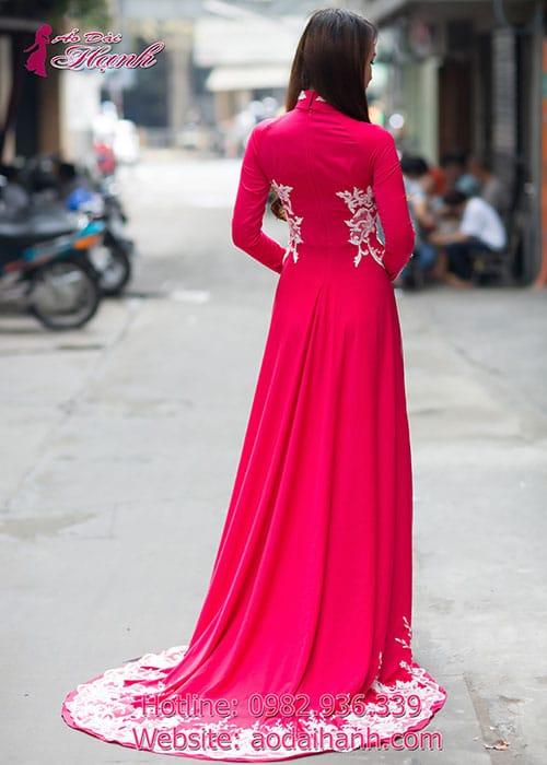 Áo dài cưới dành cho cô dâu mẫu số 78