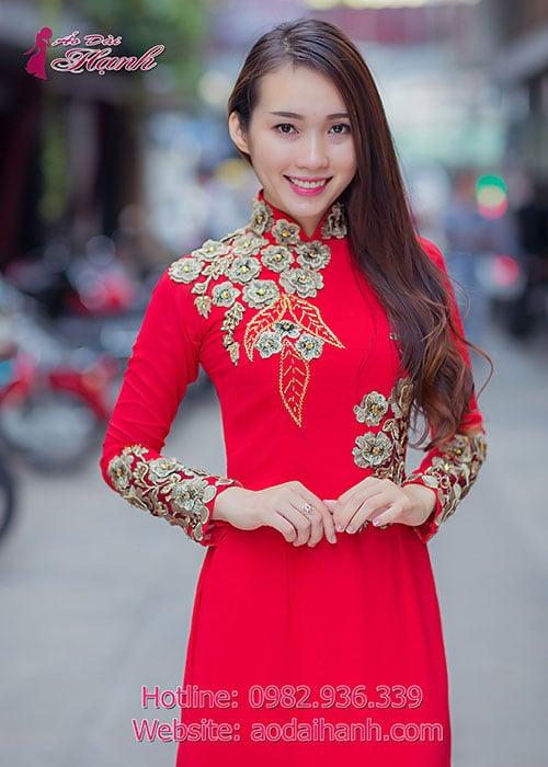 Áo dài cưới dành cho cô dâu mẫu số 80