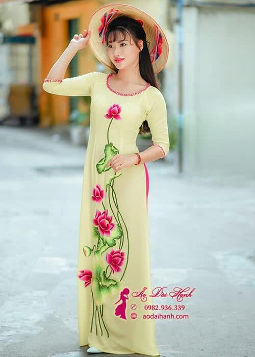 Áo dài may sãn tại Sài Gòn 03