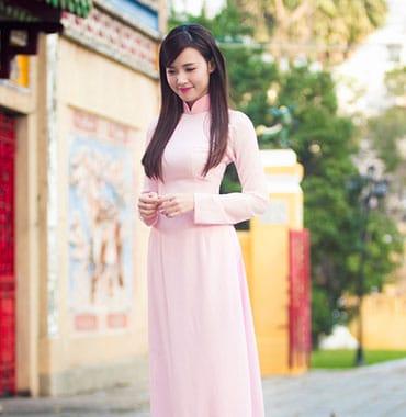 Bảng giá cho thuê áo dài may áo dài tại tp hcm 03