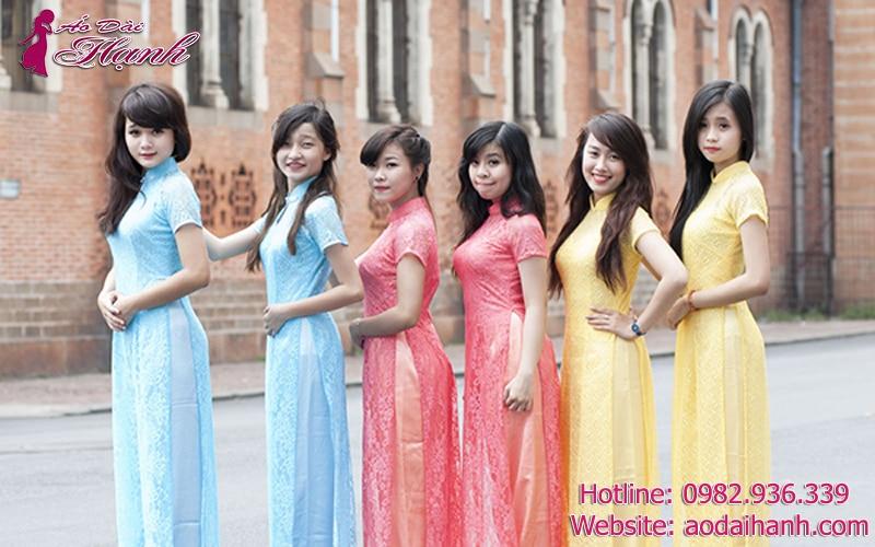 Dịch vụ cho thuê áo dài bưng quả tại Sài Gòn