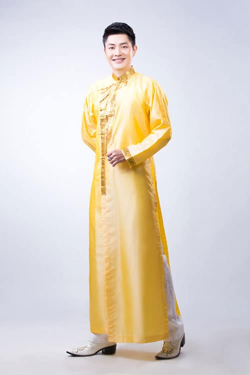 Dịch vụ cho thuê áo dài nam dành cho chú rể 02